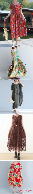 (1) summer dresses - long – SooLinen