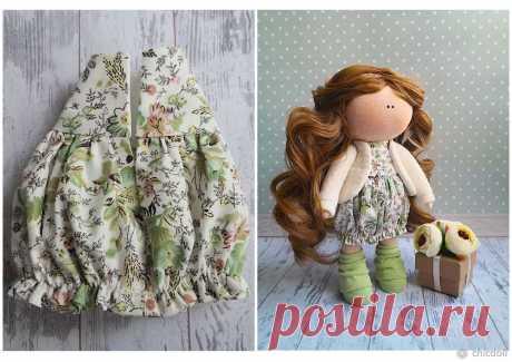Шьем милое платье для куколки Вновь хочу поделиться с вами своим опытом. Сегодня представляю вам процесс пошива платья для куколки. Представленная выкройка рассчитана на куколку ростом 22 см.