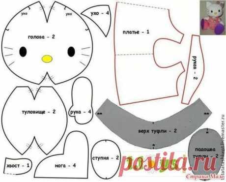 coser una almohada del gato con sus propias manos Patrones: 13 mil imágenes encontradas en Yandex. Cards