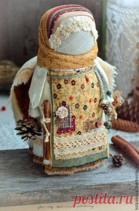 ПЭЧВОРК-ИДЕИ: Текстильная кукла без шитья - лялька-мотанка