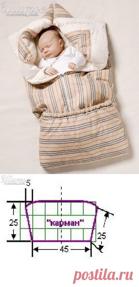 Младенческое одеяло - трансформер / Простые выкройки / ВТОРАЯ УЛИЦА