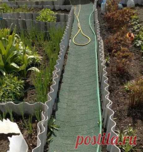 Резиновое покрытие на дачном участке (плитка, рулон, крошка). Дорожки из резины между грядок, в теплице - ЛАЙФСТАЙЛ-БЛОГ Многие задумываются над выбором материала для садовых дорожек. Большинство выбирает бетонное покрытие. После дождя поверхность становится скользкой и можно легко поскользнутся. Фото: ru.all.biz/img/ru/catalog/more/4506442_rezinovaya_dorozhka_dlya_dachi_gummi_30.jpeg Хочется, чтобы дорожки были безопасными, красивыми, долговечными и удобными. Все чаще ста...