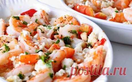 Салат с креветками и творожным сыром (рецепт) - tv.ua