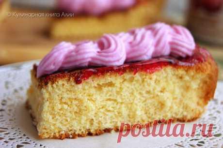 Молниеносный рецепт для работающих мамочек — торт «5 ложек»