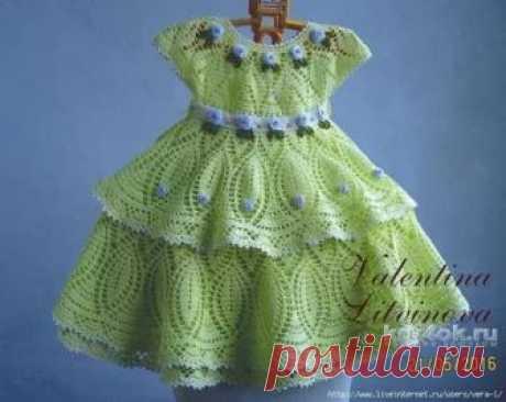 детские платья крючком со схемами и описанием литвиновой валентины: 11 тыс изображений найдено в Яндекс.Картинках