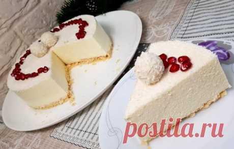 Рецепт восхитительного торта «Рафаэлло» без выпечки. Торт получается невероятно вкусным! От него невозможно оторваться! Настоящее райское наслаждение, которое подарит море удовольствия и незабываемый вкус!