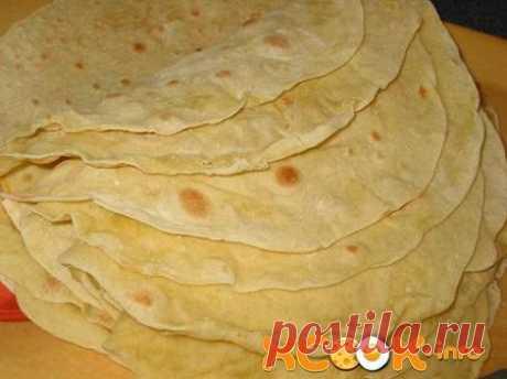 чудесный армянский лаваш на сковороде