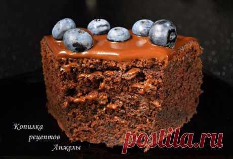 Шоколадный торт на раз, два, три... Рецепт - сказка! | Четыре вкуса