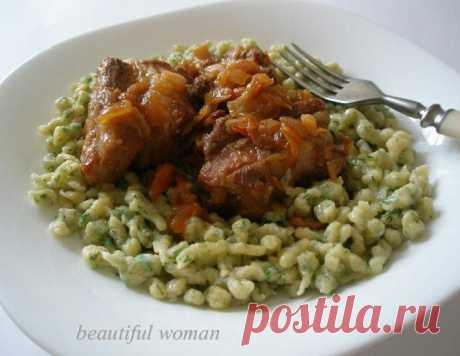 Шпецле – кулинарный рецепт