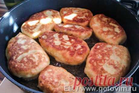 Картофельные пирожки с капустой. Фото-рецепт / Готовим.РУ