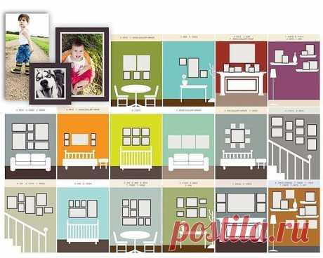 Правила развески картин / Декор стен / Модный сайт о стильной переделке одежды и интерьера