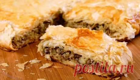 6 рецептов простых и вкусных пирогов с мясом