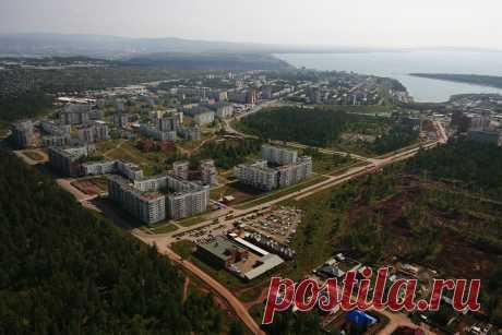 Братск с высоты птичьего полёта - Администрация города Братска
