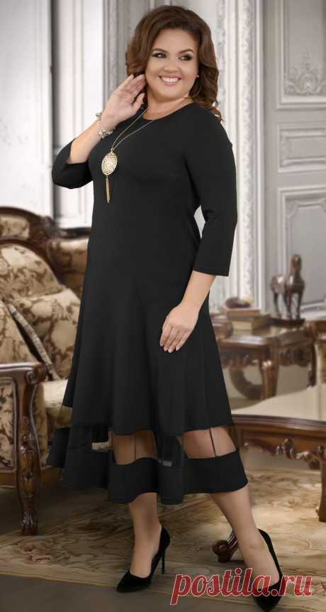 Длинное платье с асимметричными линиями - Платье норма 42-48 - Модные вечерние платья: купить недорого у производителя в розницу, доставка по Украине | Lemanta.com