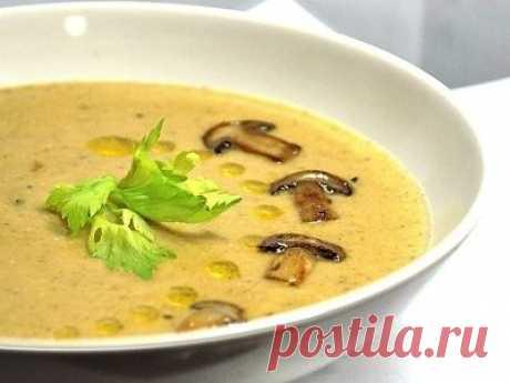 Суп с сыром и грибами - пошаговый рецепт с фото на Повар.ру