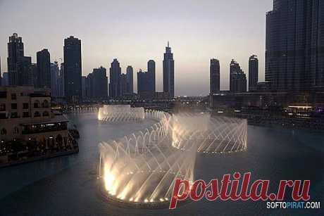 10 самых удивительных фонтанов мира.