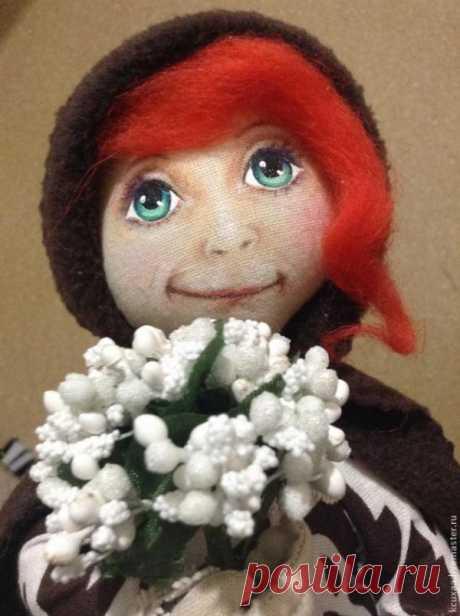 Рисуем лицо кукле. МК.