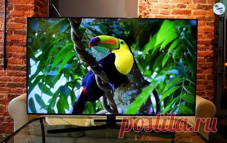 Простой и не самый дорогой телевизор Samsung, у которого качество изображения и цветопередачи на действительно высоком уровне | ТехОбзор | Яндекс Дзен