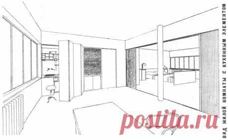 """как могла бы выглядеть кухня, если бы приняли этот проект в 1929, а не """"хрущевский"""""""
