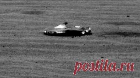 Del sitio NASA ha desaparecido la foto del aparato espacial sobre Marte