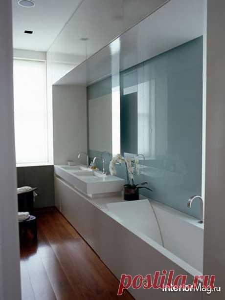 Дизайн узкой ванной комнаты | Наш уютный дом