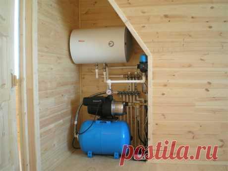 Организовываем водоснабжение бани – как выбрать водный источник и нюансы технологии - HeatMaster водоснабжение бани - как правильно организовать. Как обустроить хороший источник воды. Как выбрать и установить насосную станцию. Выбор качественных труб.