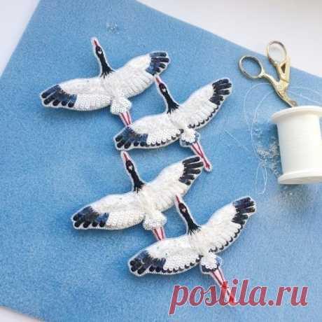 Птицы из бисера, брошь и удивительные украшения, мастер класс, схемы плетения своими руками
