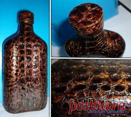 Krakle. Imitation of skin (egg shell)