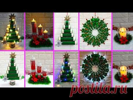 Economical 4 Easy Christmas Craft idea | Best out of waste Low budget Christmas craft idea (Part 3)