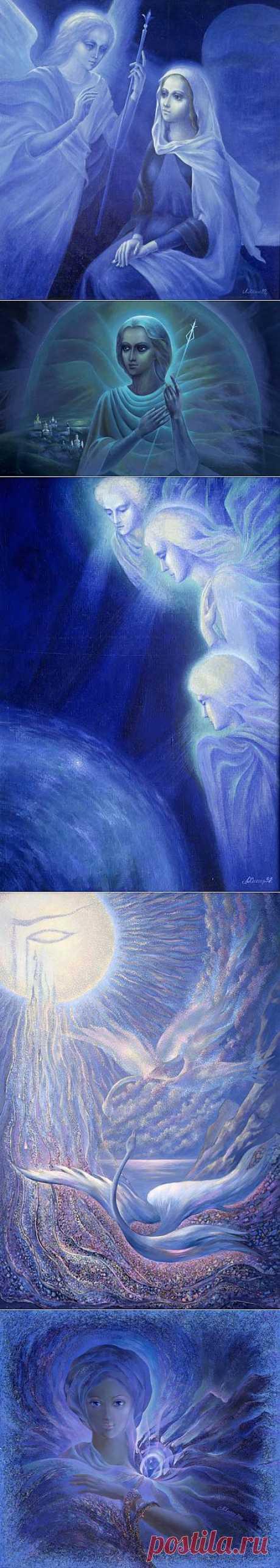 Земной мир глазами Космоса. Художник Лариса Хомич. | Наслаждение творчеством