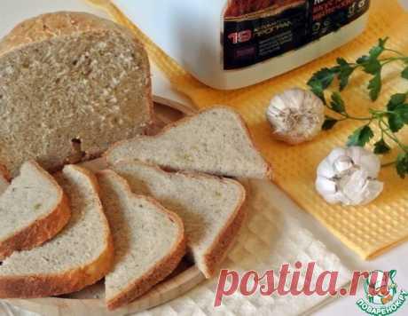 Чесночный хлеб с зеленью – кулинарный рецепт