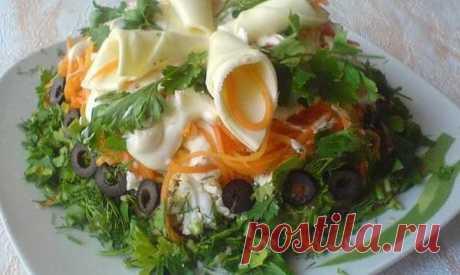 Салат Виола с плавленным сыром - Kulinarnyj-Recept.��