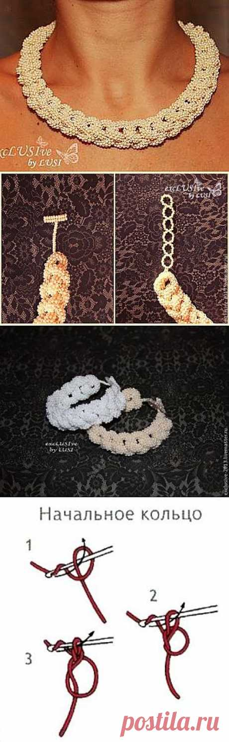 Ожерелье Pearl passion - Ярмарка Мастеров - ручная работа, handmade