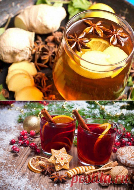 Новогодние напитки 2021 - 10 лучших рецептов с фото