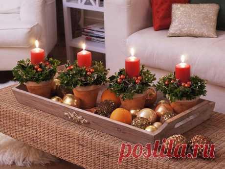 Удачно и красиво оформленный новогодний декор залог хорошего и сказочного настроения.