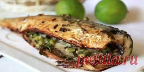 Крутой способ приготовить скумбрию по-новому. Весь секрет в овощах и ароматных специях! Рыба твоей мечты.