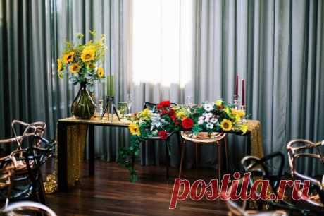 Любовь и подсолнухи - Свадьбы - Сообщество декораторов текстилем и флористов