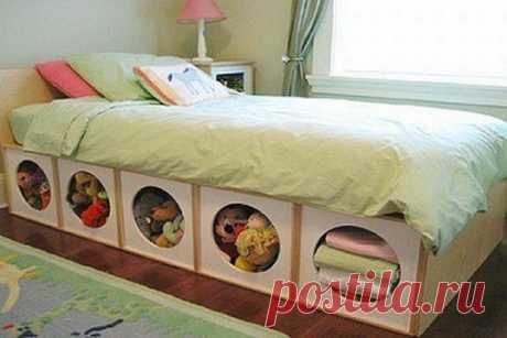 Кровати, которые помогут сэкономить место в спальне  #креативные_идеи@m_lifehack  #дом_и_уют@m_lifehack