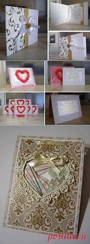 Приглашения на свадьбу своими руками. Как сделать оригинальные свадебные приглашения. / Приглашение на свадьбу
