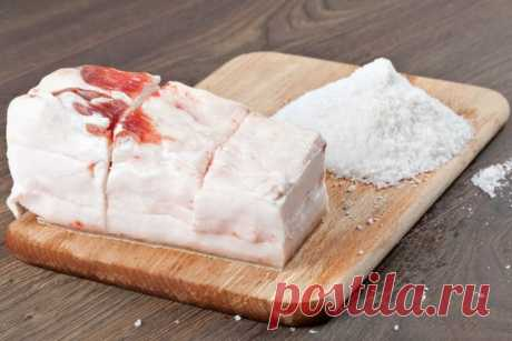 Сало в рассоле: рецепт приготовления. Видео — www.wday.ru