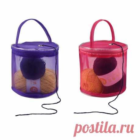 Сетка Вязание иглы сумка для хранения полые нити вязаный крючком вязать сумка DIY Craft органайзер для ниток хранения Швейных аксессуары сумки рукоделие