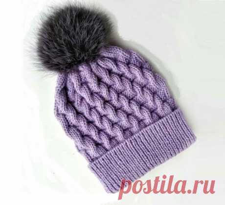 3 модные шапочки, связанные интересными узорами (с описанием)   Идеи рукоделия   Яндекс Дзен