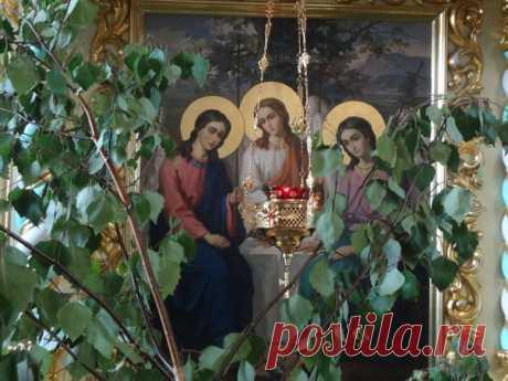 С днём Святой Троицы, православные, c днём рождения Церкви! Пусть благодать Духа Святого всегда пребывает с вами!   #Православие #Святая_Троица #Церковь