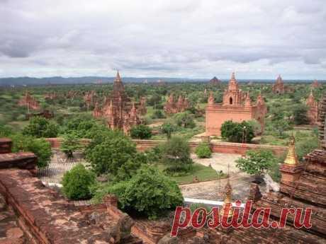 Древний город Баган в Бирме — Путешествия