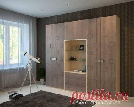 Распашной платяной шкаф: фото, фасады МДФ, МДФ глянец