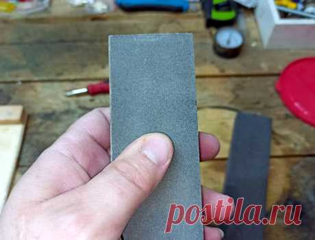 Теперь мои ножи острые как бритва: заточка ножей при помощи трёх камней и простого приспособления | Сделай Самоделку | Яндекс Дзен