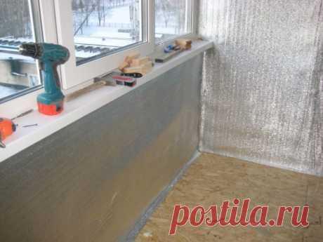 Как надежно прикрепить пенофол к стенам и потолку