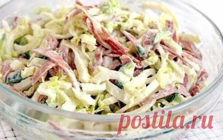 ТОП 5 свежих салатов с пекинской капустой! Невероятно вкусно!