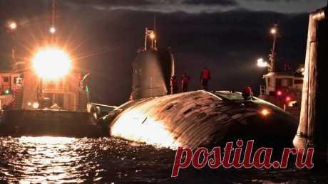 Атомный подводный крейсер «Казань» | Видео дня