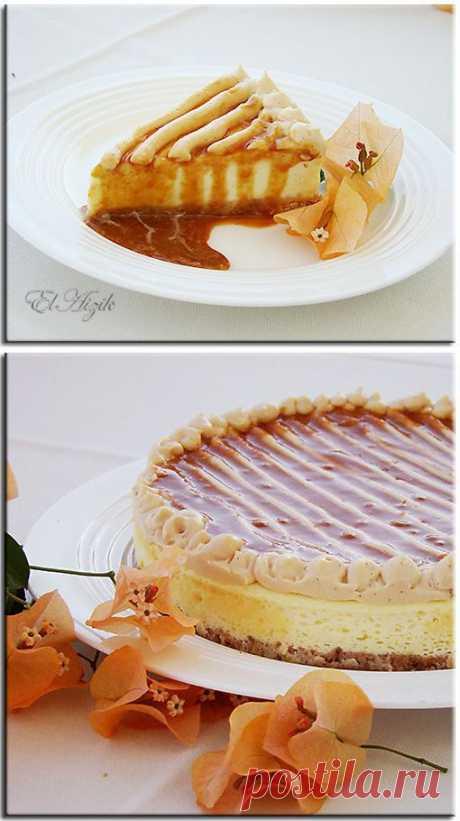 Творожный торт со сгущенным молоком • Автор Elaizik